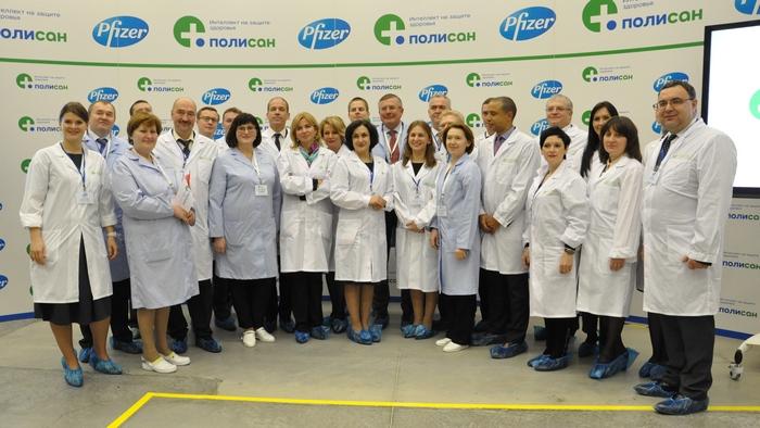 Препараты компании «Pfizer» будут производить в Петербурге
