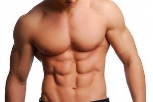 Полные люди не могут похвастаться рельефными мышцами
