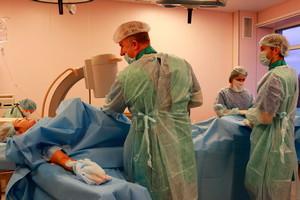В Санкт-Петербурге провели операцию по лечению тромбоза глубоких вен с применением нового стента Abre